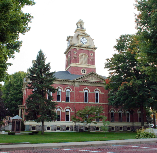 LaGrange Co. courthouse